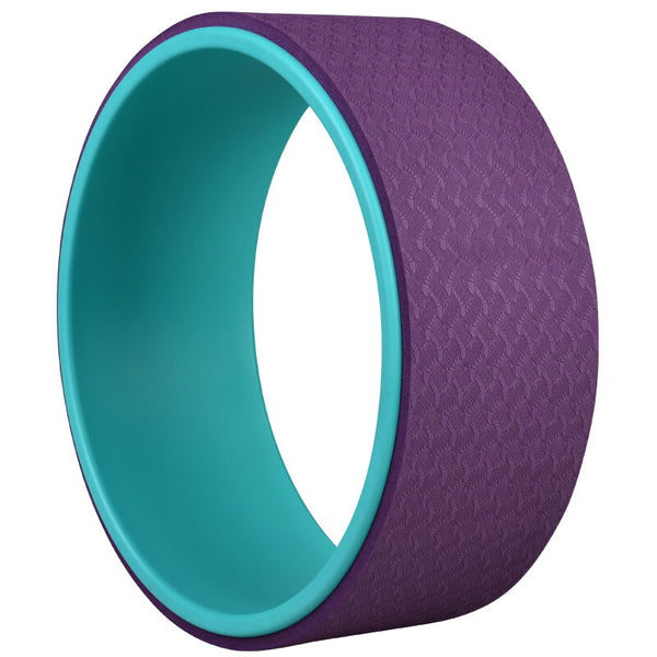 Solid Colour Yoga Wheel