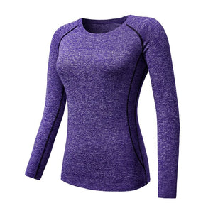 2018 New Fitness Quick Dry Long Sleeve T Shirt