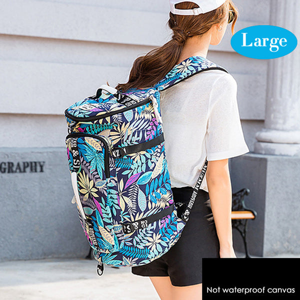 Waterproof Canvas Gym Fitness Bags