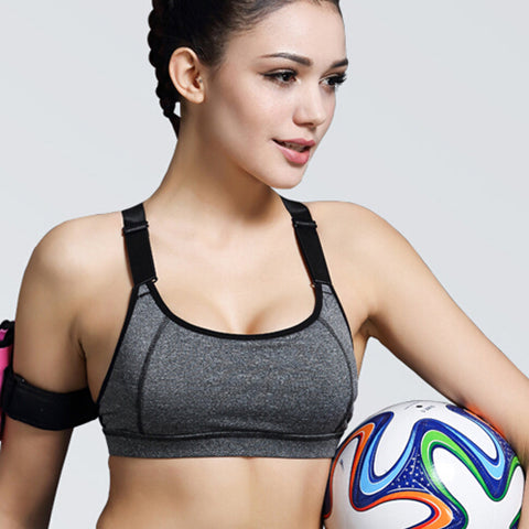 Women Fitness Shake proof Push Up Bras Top