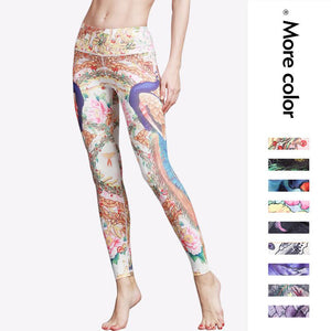 Novelty 3D Animal Print Yoga Pants