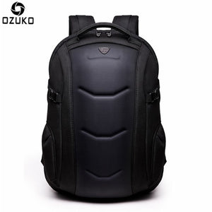 OZUKO 15.6 inch Notebook Men Backpack Water resistance Anti-Theft
