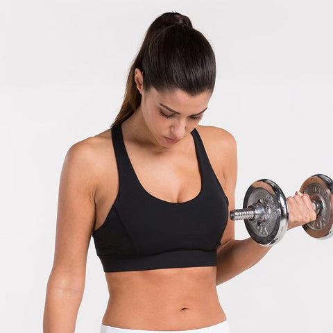 Train Print Fitness Full Cup Bras