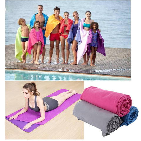 Outdoor Sports Quick-Dry Bath Set Towel 2pc/set