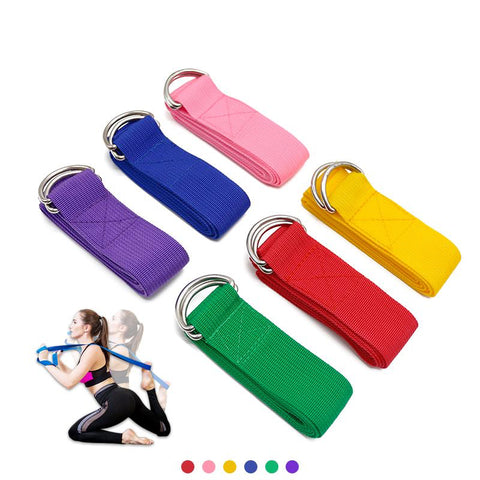 Adjustable Yoga & Multifunction Stretch Strap