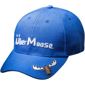 Uber Moose baseball cap in blue