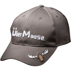 Uber Moose baseball cap in grey
