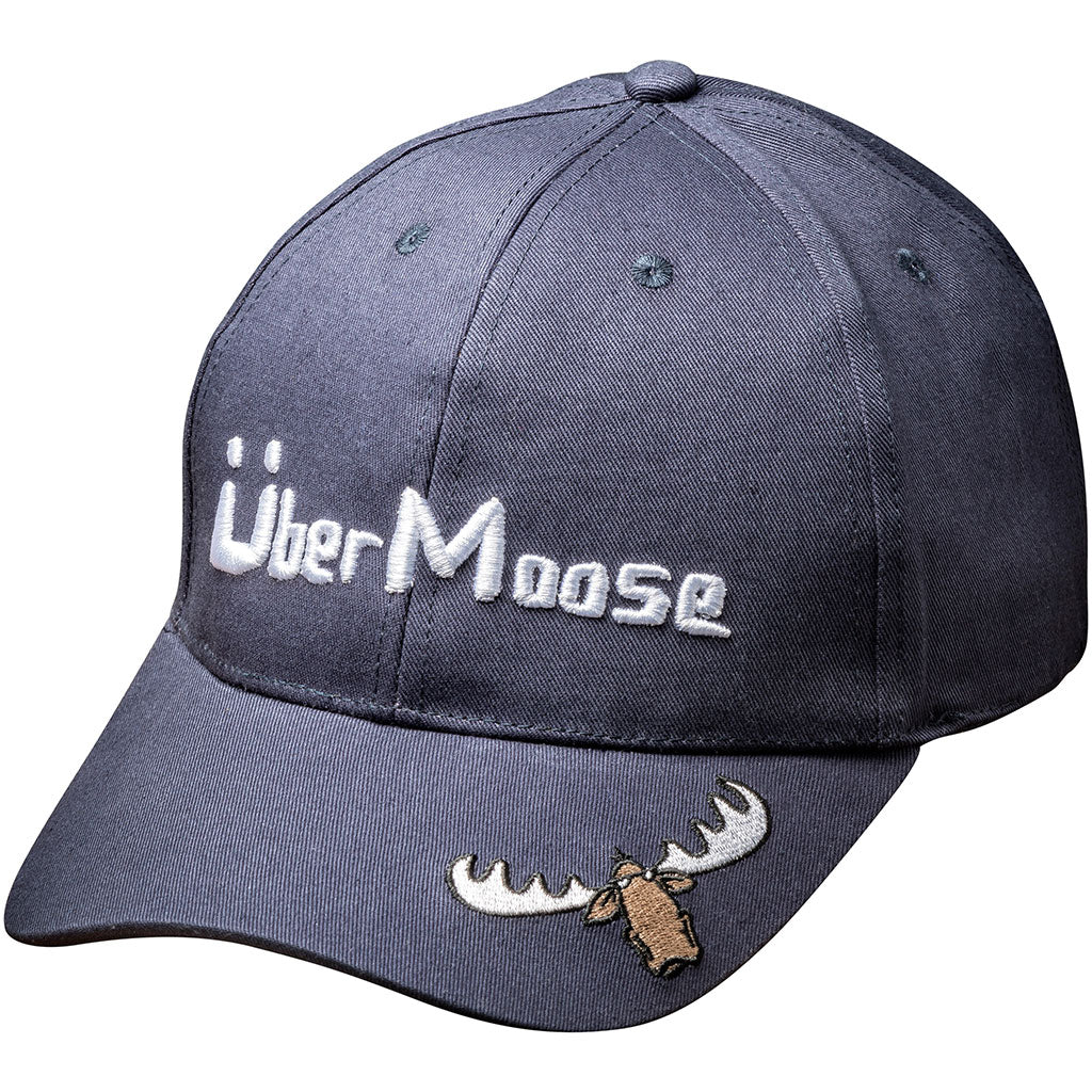 Uber Moose baseball cap in indigo
