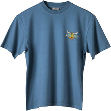 Turbo Mooster T-Shirt - Small Chest Print - Denim