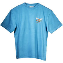 Uber Survival T-Shirt - Small Chest Print - Alaskan Blue