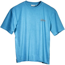 Old's Cool Chopper T-Shirt - Small Chest Print - Alaskan Blue