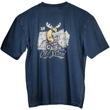 Old's Cool Chopper T-Shirt - Large Back Print - Indigo
