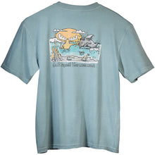 Don't Spoil The Moment T-Shirt - Large Back Print - Aqua