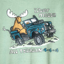 All Terrain T-Shirt - Large Back Print - Green