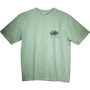 All Terrain T-Shirt - Small Chest Print - Green