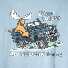 All Terrain T-Shirt - Large Back Print - Sky