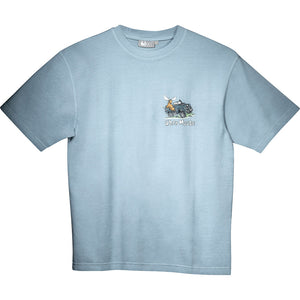 All Terrain T-Shirt - Small Chest Print - Sky