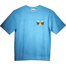 Head for the Hills T-Shirt - Small Chest Print - Alaskan Blue