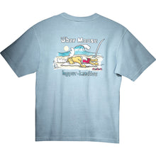 Hyper Inactive T-Shirt - Large Back Print - Sky