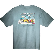 Hyper Inactive T-Shirt - Large Back Print - Turquoise