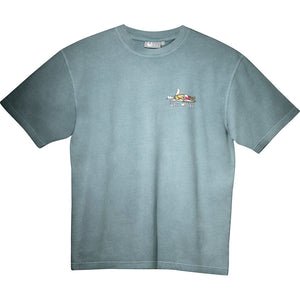 Hyper Inactive T-Shirt - Small Chest Print - Turquoise
