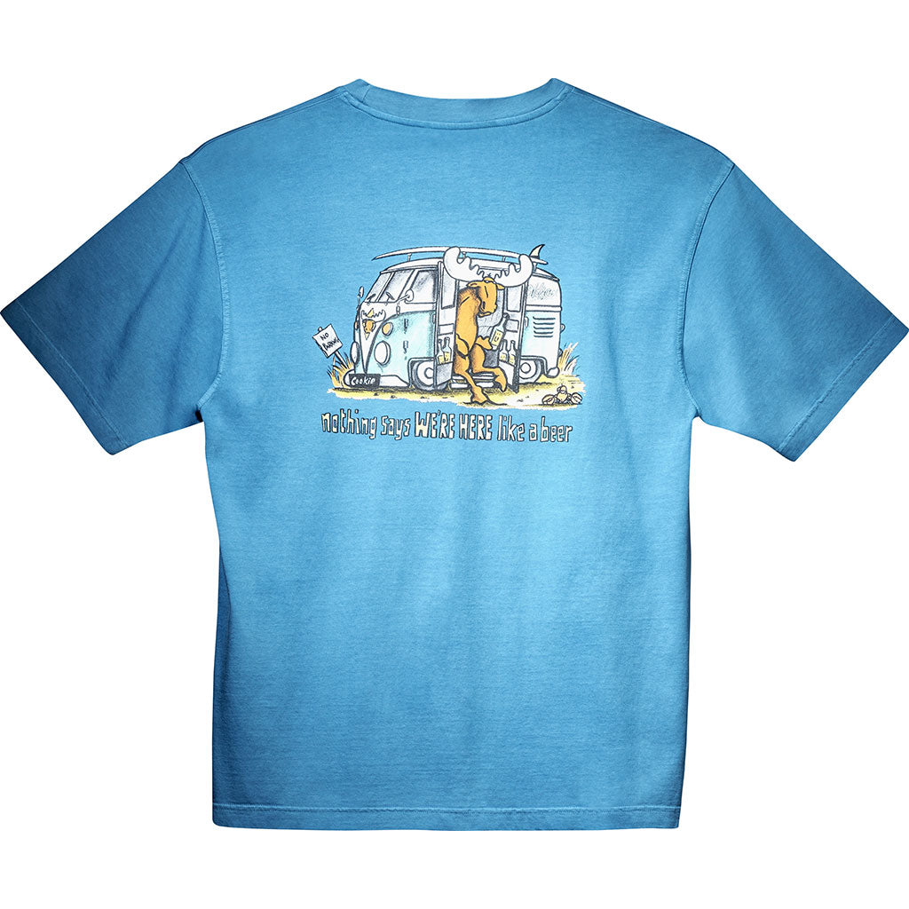 Nothing Says T-Shirt - Large Back Print - Alaskan Blue