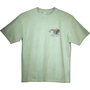 Well Hung T-Shirt - Small Chest Print - Green