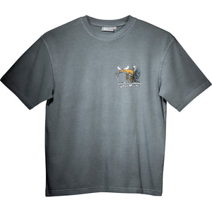 Well Hung T-Shirt - Small Chest Print - Grey