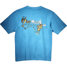Make Tracks T-Shirt - Large Back Print - Alaskan Blue