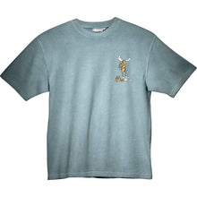 Make Tracks T-Shirt - Small Chest Print - Turquoise