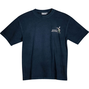 Keep it Reel T-Shirt - Small Chest Print - Indigo