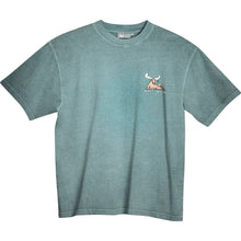 Mating Season T-Shirt - Small Chest Print - Stone Blue