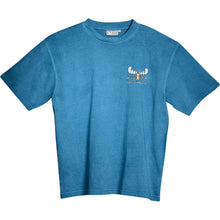 Mooster Chef T-Shirt - Small Chest Print - Alaskan Blue