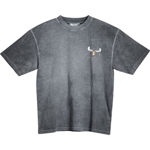 Mooster Chef T-Shirt - Small Chest Print - Charcoal
