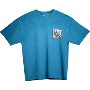 Comfort Zone T-Shirt - Small Chest Print - Alaskan Blue