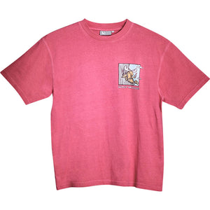 Comfort Zone T-Shirt - Small Chest Print - Pink