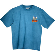 Jagermooster T-Shirt - Small Chest Print - Alaskan Blue
