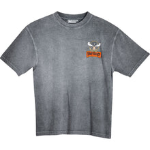 Jagermooster T-Shirt - Small Chest Print - Charcoal
