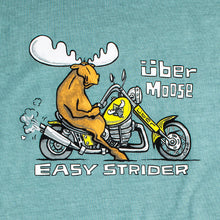 Easy Strider T-Shirt - Large Back Print - Aqua