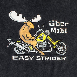 Easy Strider T-Shirt - Large Back Print - Graphite