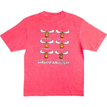 Happy Moose T-Shirt - Large Back Print - Pink