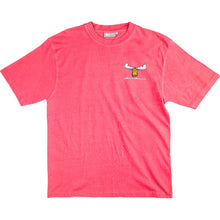 Happy Moose T-Shirt - Small Chest Print - Pink