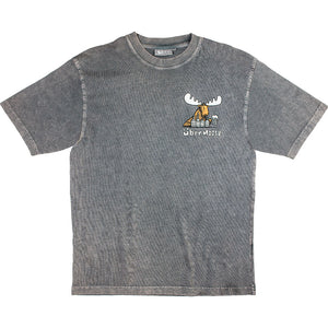 Five A Day T-Shirt - Small Chest Print - Charcoal