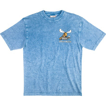 Five A Day T-Shirt - Small Chest Print - Denim