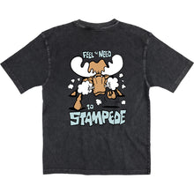 Stampede T-Shirt - Large Back Print - Graphite