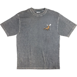 Un-Ready T-Shirt - Small Chest Print - Charcoal
