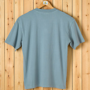 Embroidered Logo T-Shirt - Aqua
