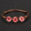 Frozen in Time Flower Bracelet