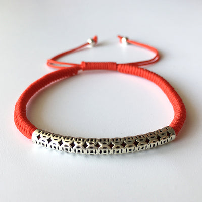Multi Coin Lucky Red Rope