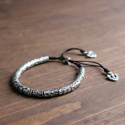 Six True Words Mantra Bracelet